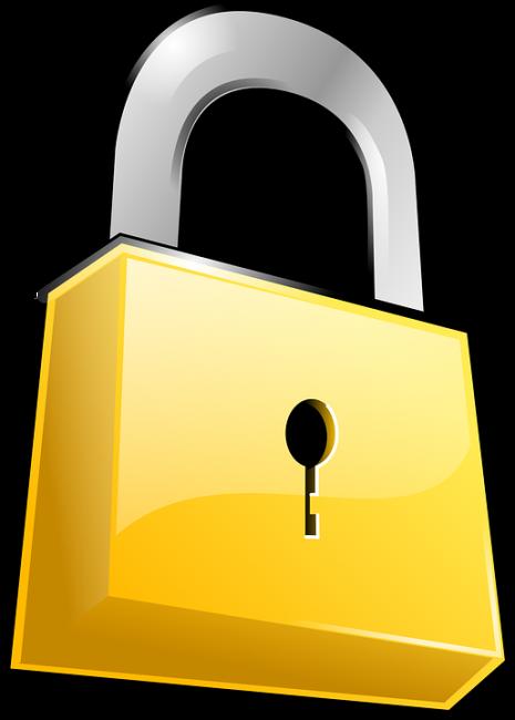 Security slot clip