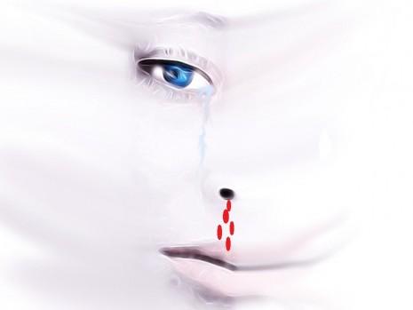 نزول الدم من الأنف في المنام