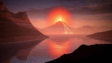 رؤية البركان في المنام للمتزوجة و الحامل و العزباء
