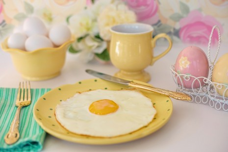 رؤية البيض المقلي في المنام